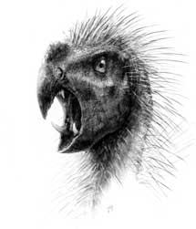 Recreación de 'Pegomastax africanus'.| Todd Marshall
